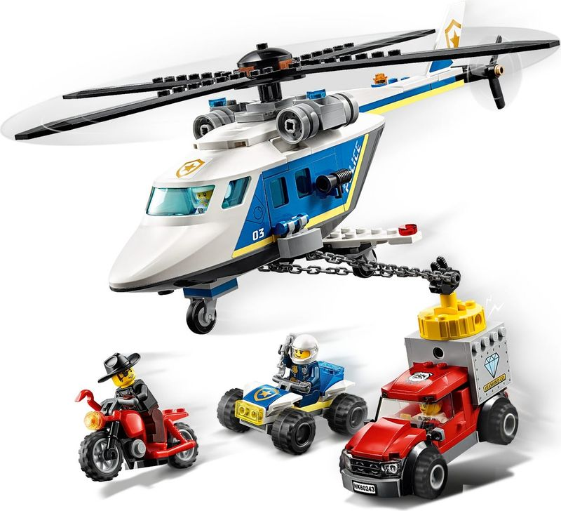 LEGO® City Police Helicopter Chase gameplay