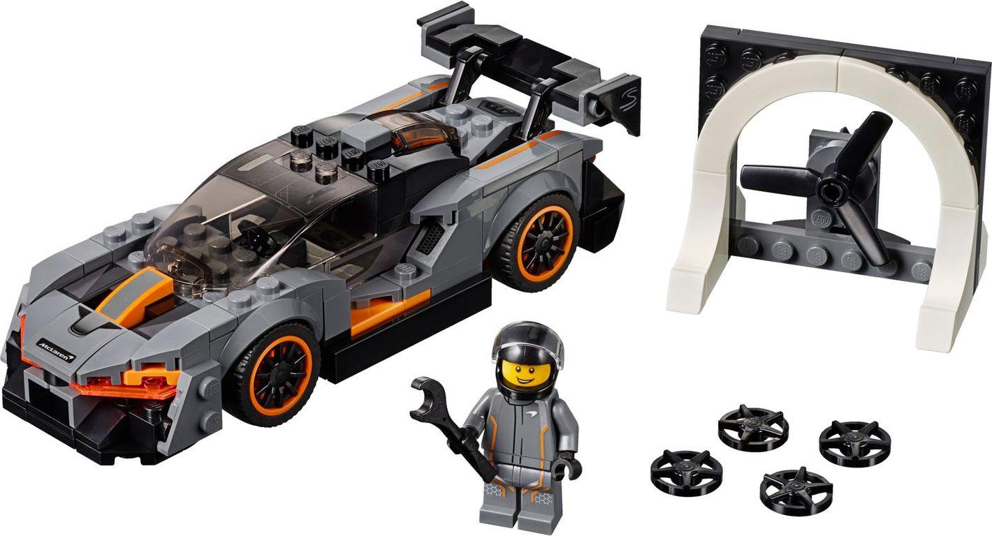 McLaren Senna components
