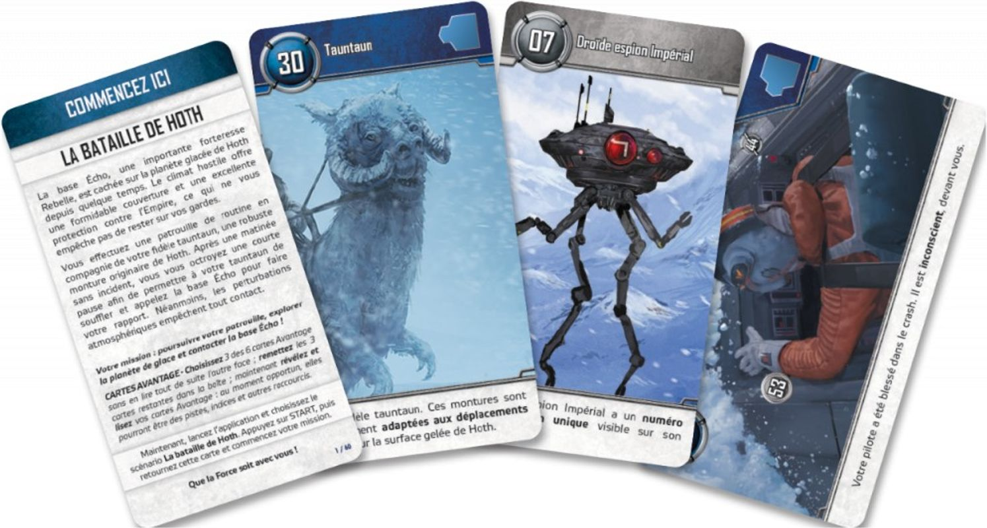 Unlock! Star Wars cards