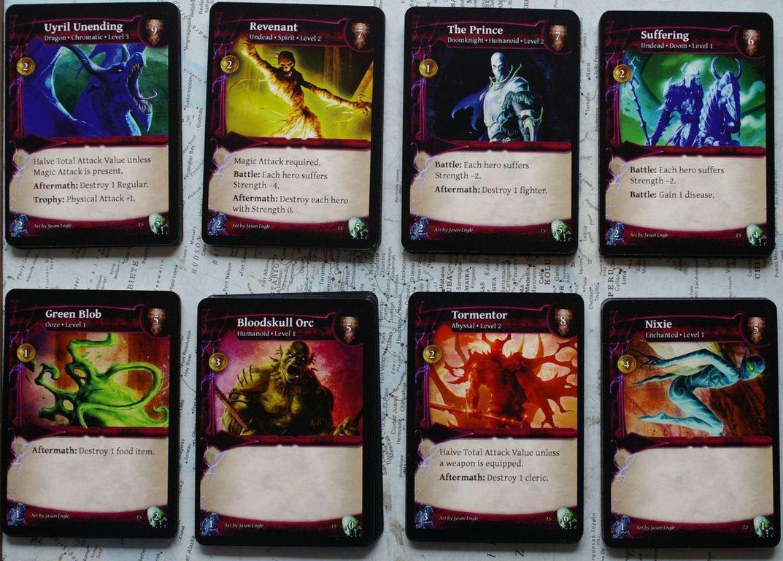 Thunderstone cards