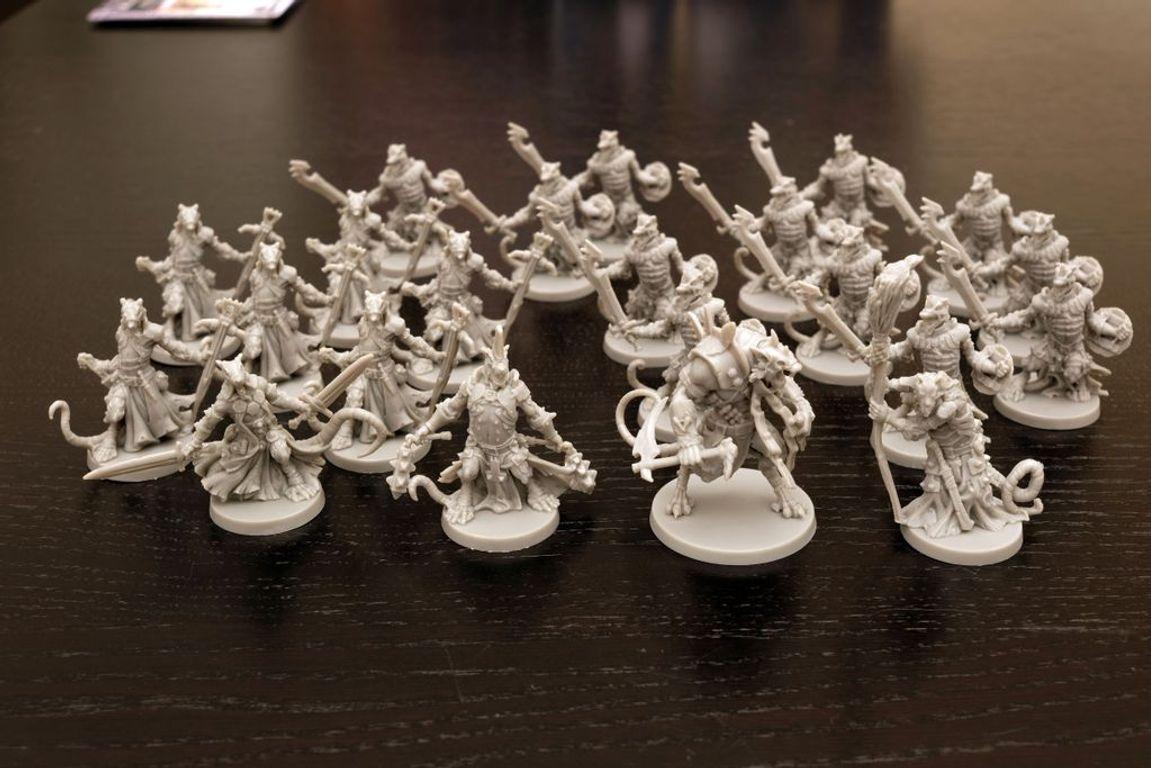 Massive Darkness: Enemy Box - Ratlings miniatures