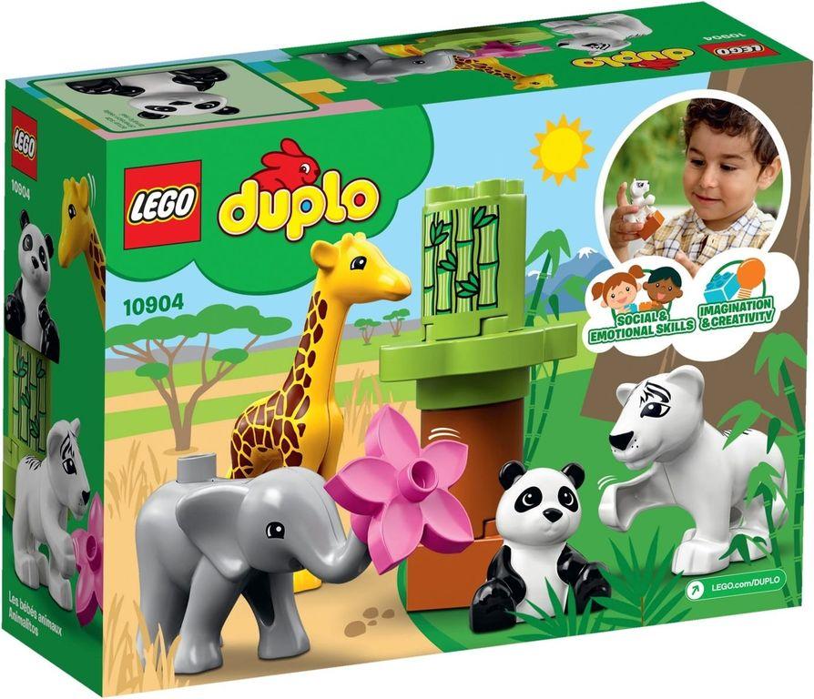 LEGO® DUPLO® Baby Animals back of the box