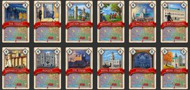 The Great Fire of London 1666 cards