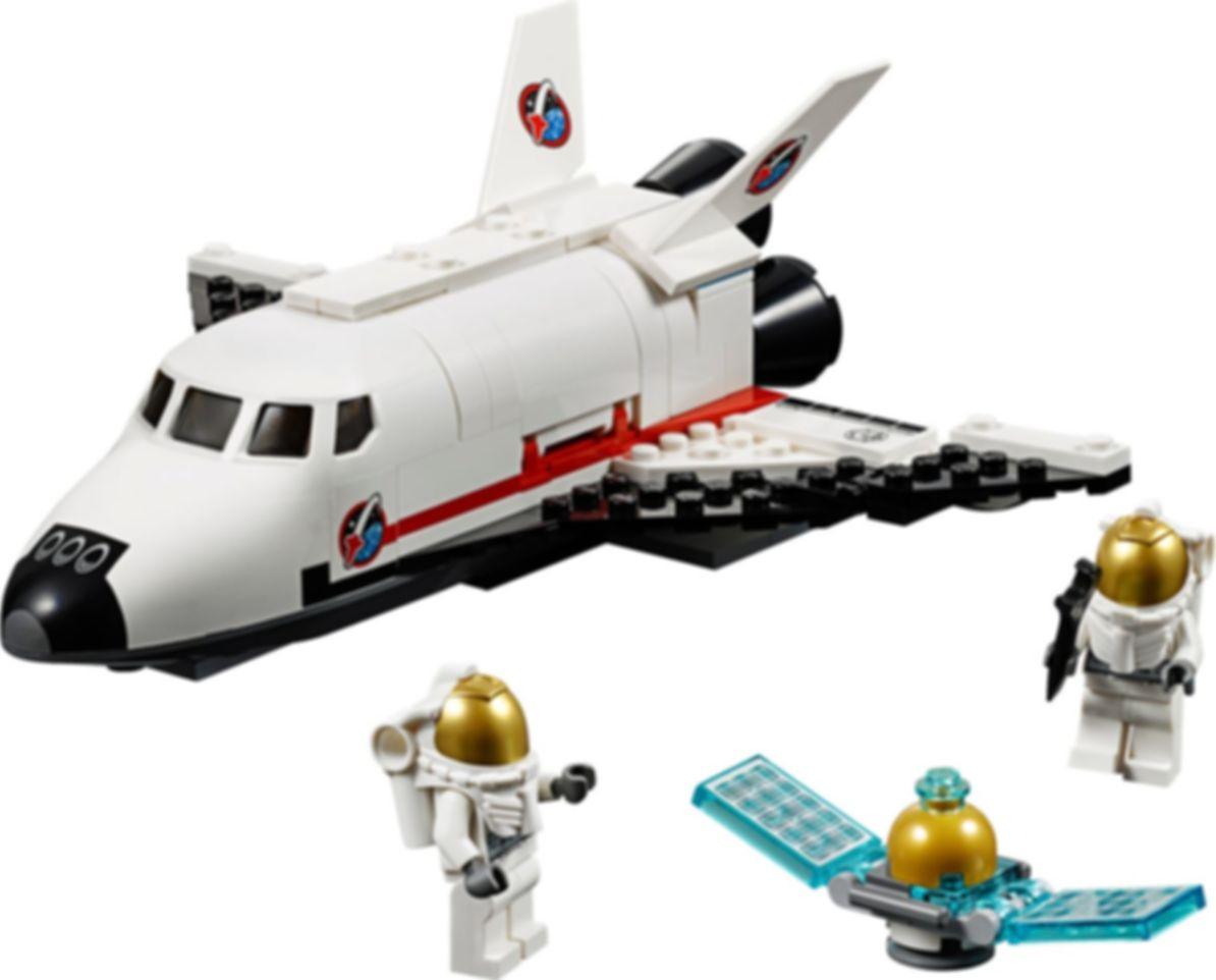 LEGO® City Utility Shuttle components