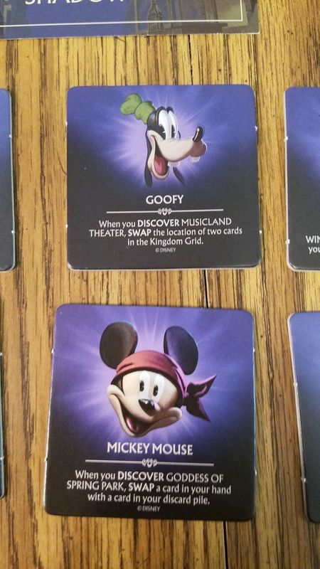 Disney Shadowed Kingdom cards