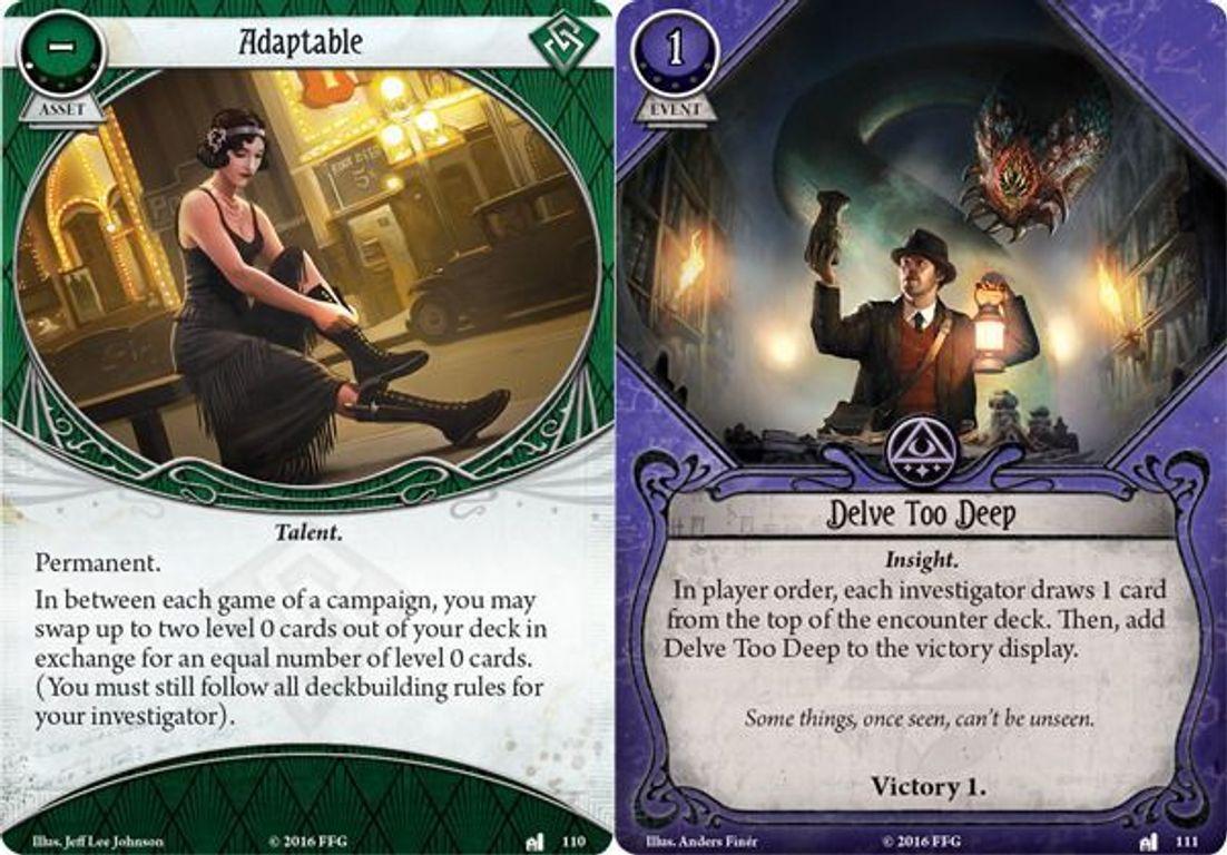 Arkham Horror: The Card Game - The Miskatonic Museum - Mythos Pack cards