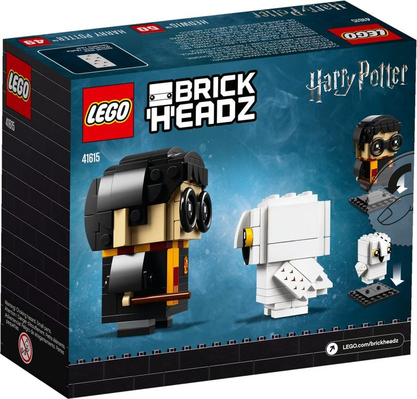 Harry Potter™ & Hedwig™ back of the box