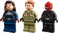 LEGO® Marvel Captain Carter & The Hydra Stomper minifigures