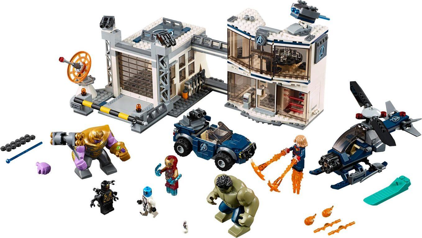Avengers Compound Battle components