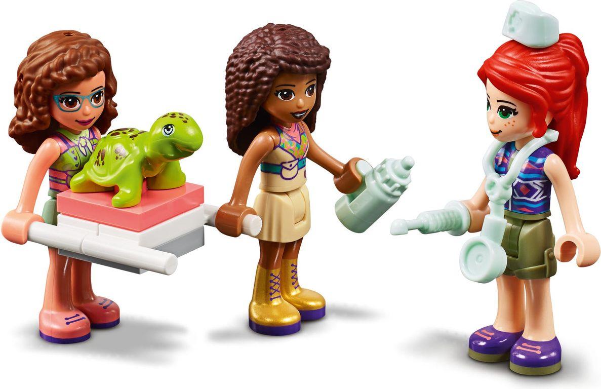 LEGO® Friends Jungle Rescue Base minifigures