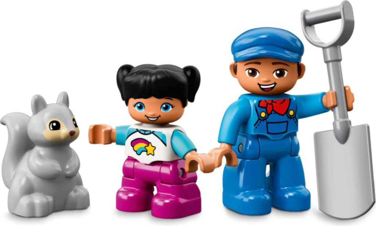 LEGO® DUPLO® Steam Train minifigures