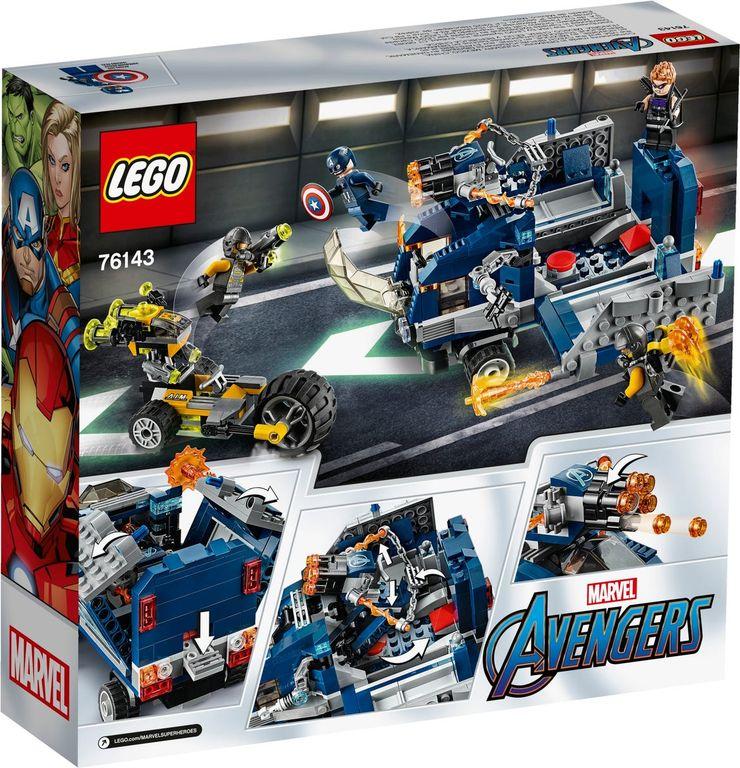 LEGO® Marvel Avengers Truck Take-down back of the box
