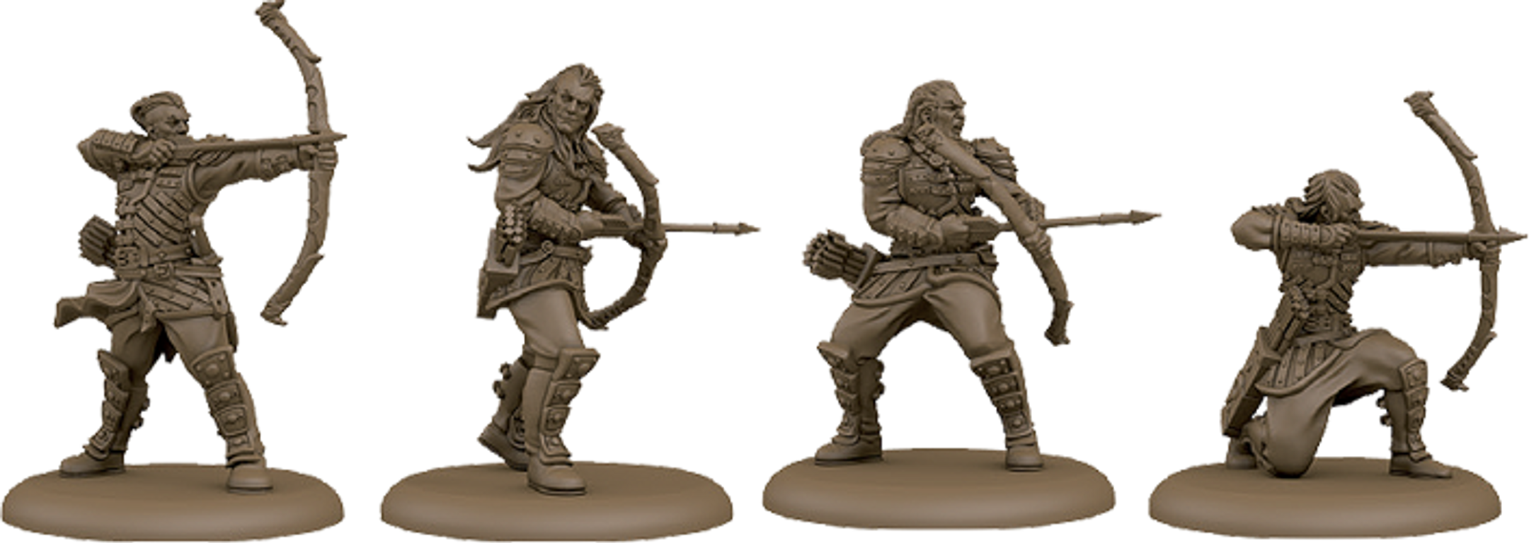 A Song of Ice & Fire: Tabletop Miniatures Game – Neutral Stormcrow Archers miniatures