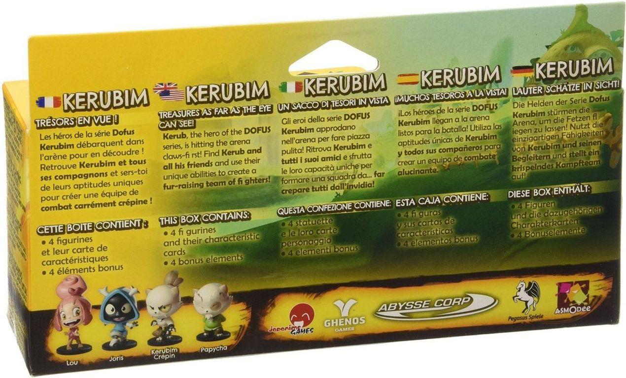 Krosmaster: Arena - Pack Kerubim back of the box