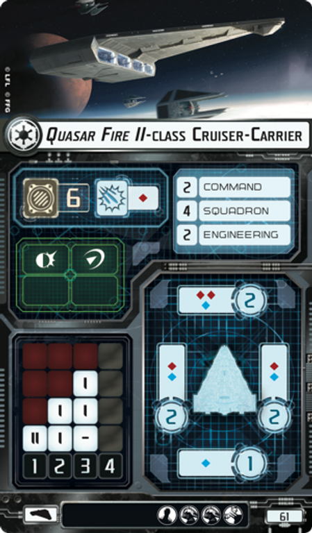 Star Wars: Armada – Imperial Light Carrier Expansion Pack card