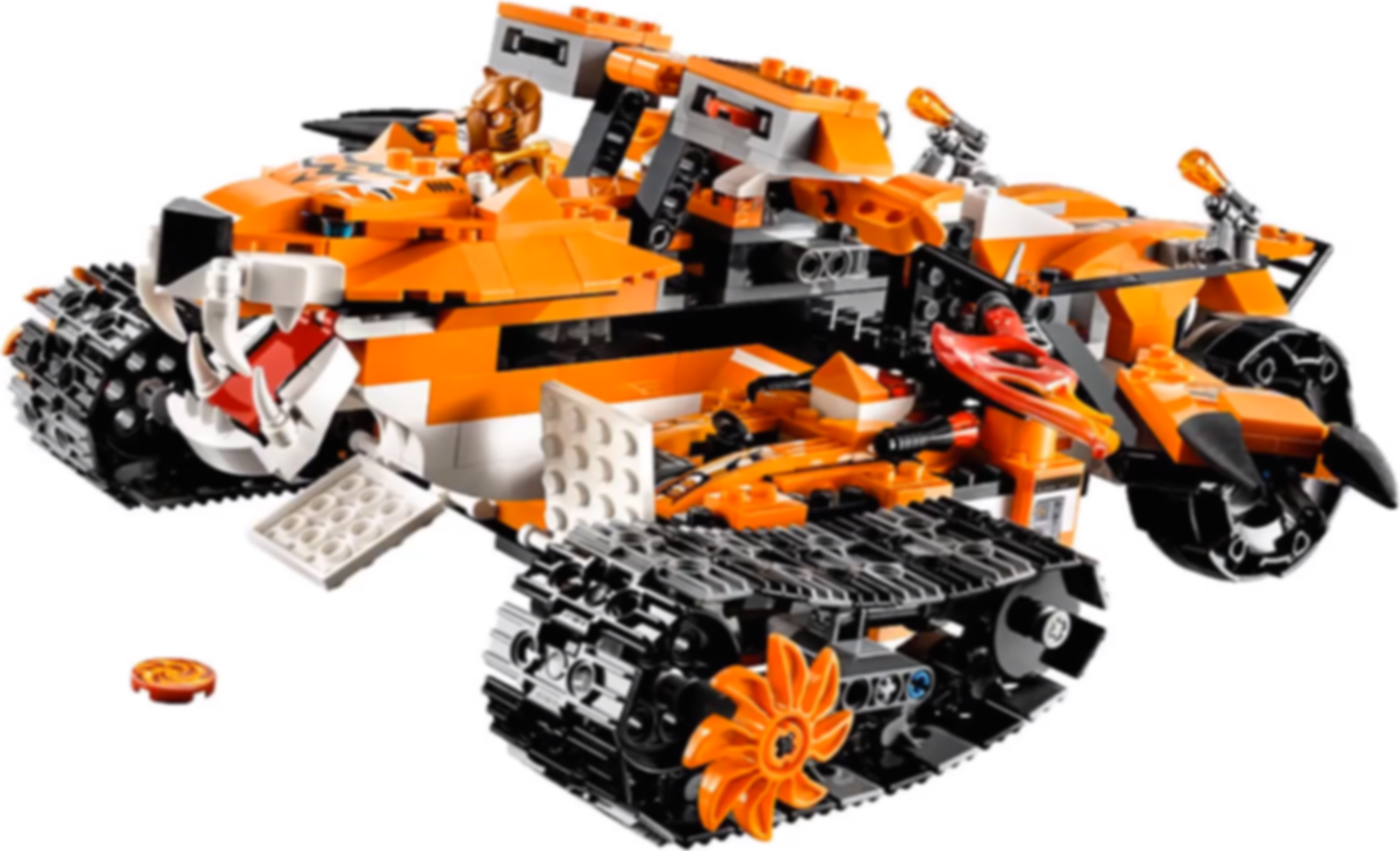 LEGO® Legends of Chima Tiger's Mobile Command gameplay