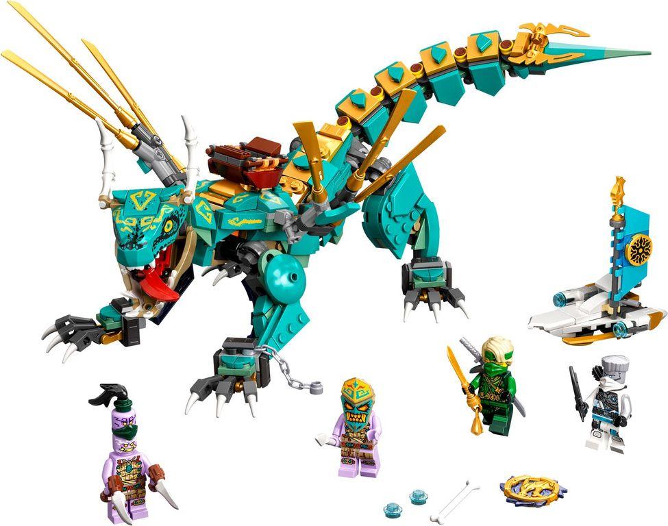 LEGO® Ninjago Jungle Dragon components