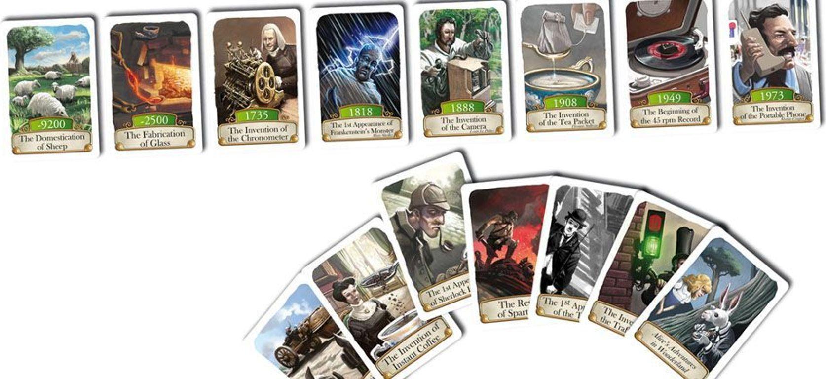 Timeline: Diversity cards