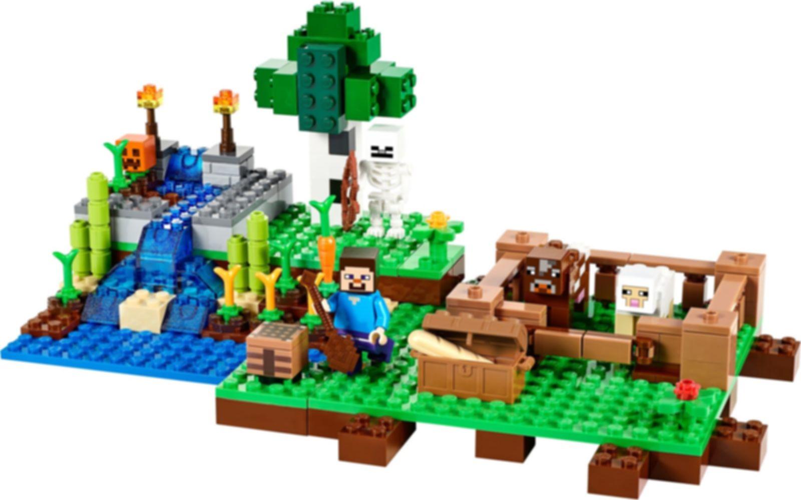 LEGO® Minecraft The Farm components