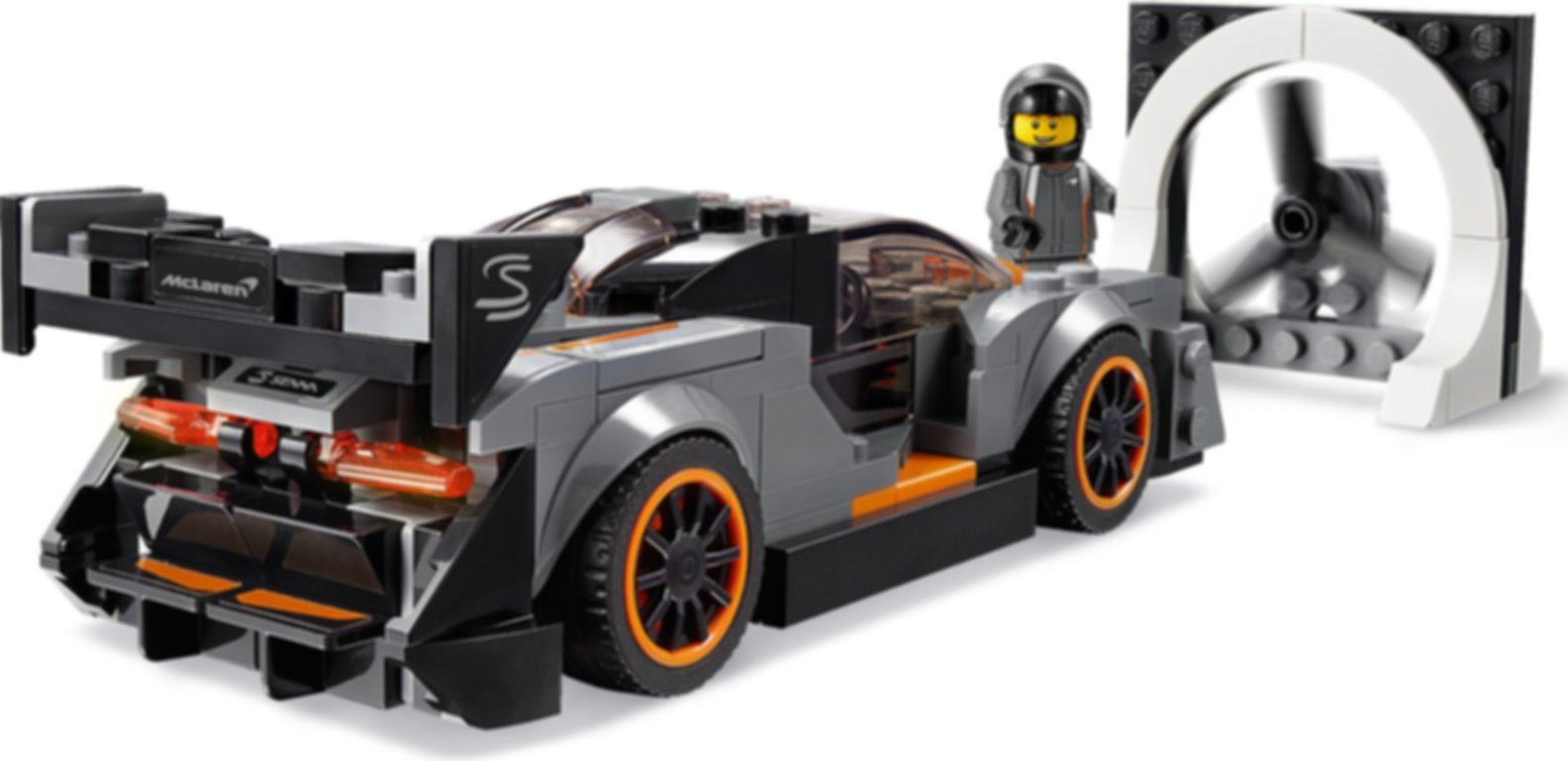 LEGO® Speed Champions McLaren Senna gameplay