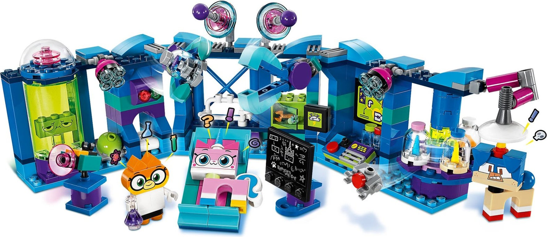 LEGO® Unikitty! Dr. Fox™ Laboratory gameplay