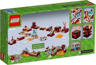 LEGO® Minecraft The Nether Railway back of the box