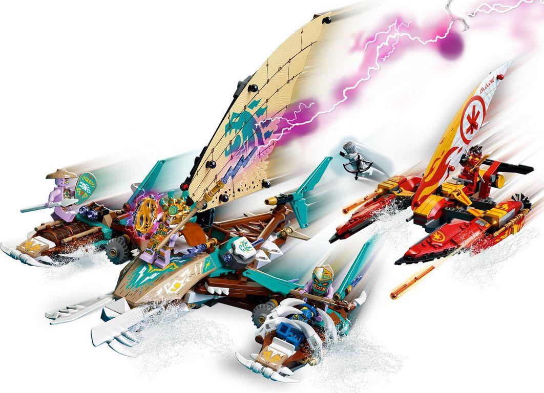 LEGO® Ninjago Catamaran Sea Battle gameplay