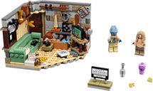 LEGO® Marvel Bro Thor's New Asgard components