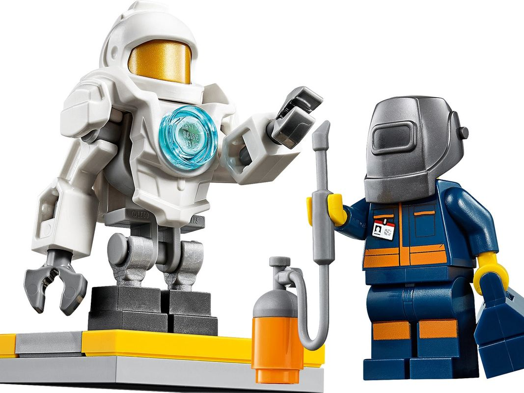 People Pack - Space Research and Development minifigures