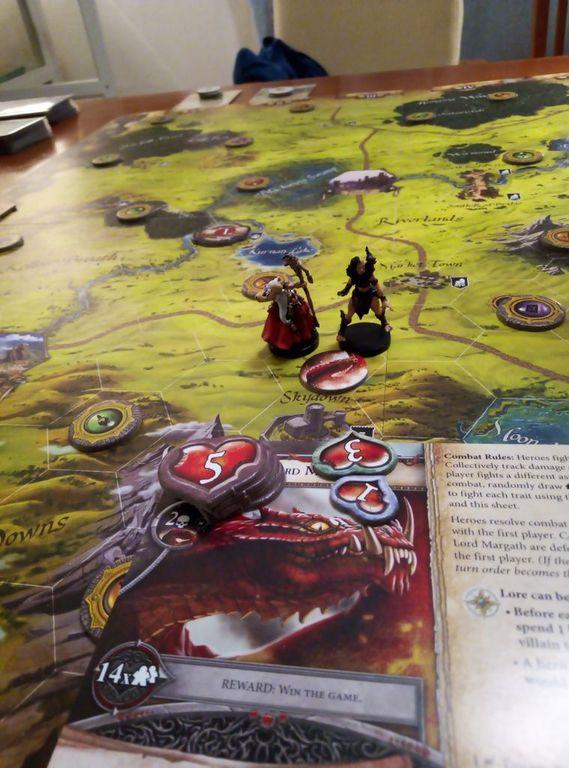 Runebound (Third Edition): Unbreakable Bonds gameplay