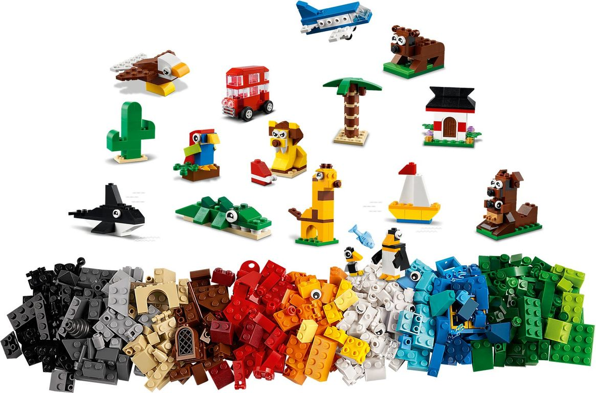 LEGO® Classic Around the World components