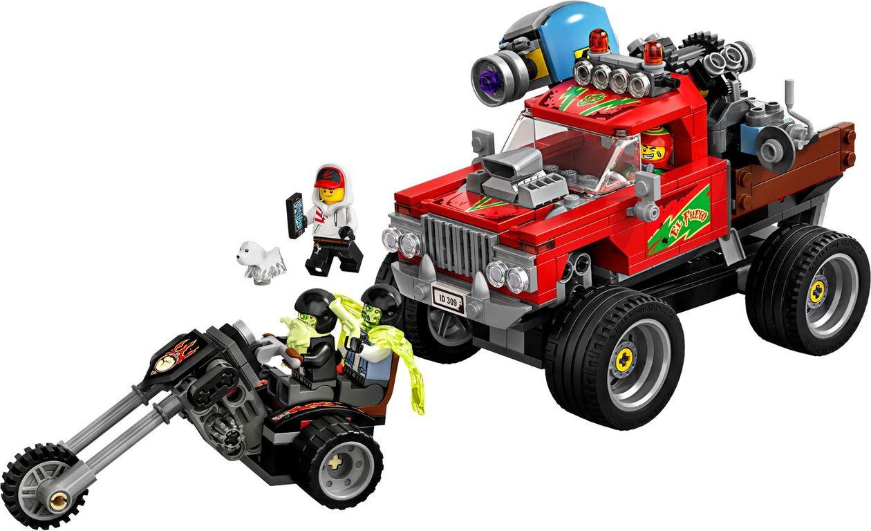 El Fuego's Stunt Truck components