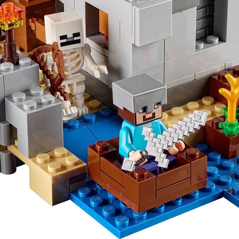 LEGO® Minecraft The Desert Outpost components