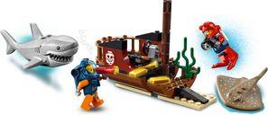 Ocean Exploration Ship components