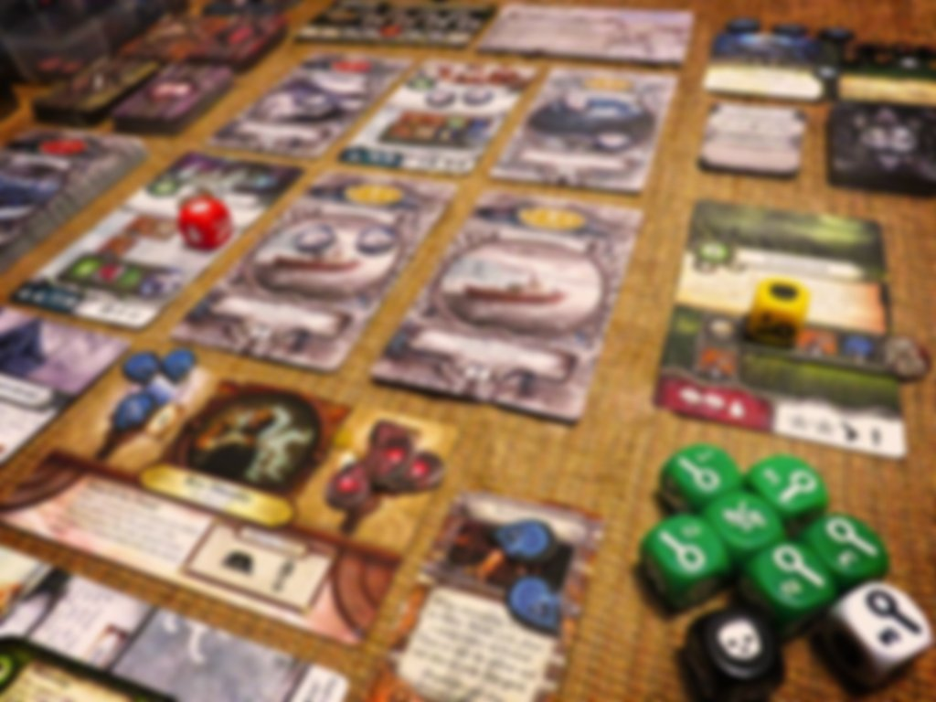 Elder Sign: Omens of Ice gameplay