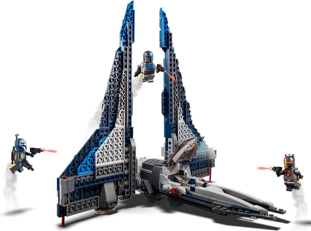LEGO® Star Wars Mandalorian Starfighter™ components