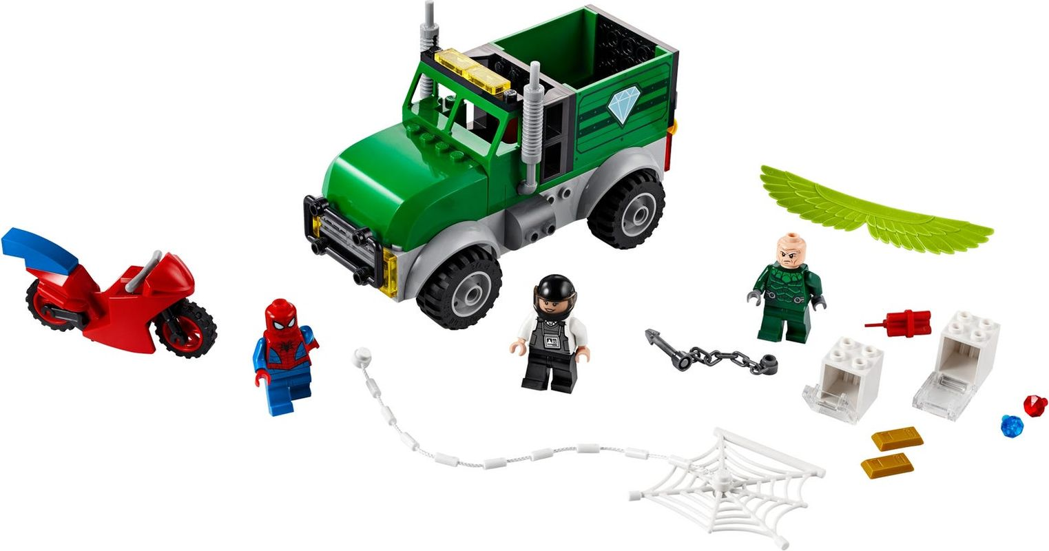 Vulture's Trucker Robbery components