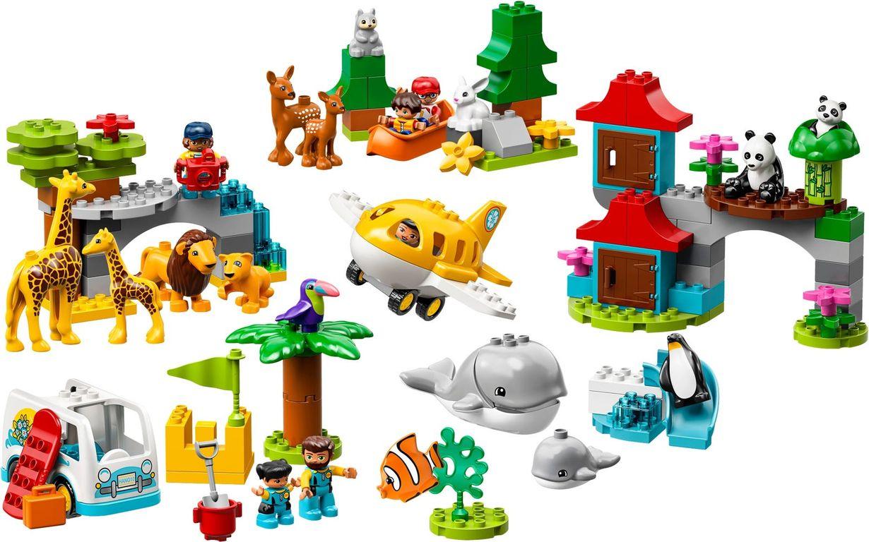 World Animals components
