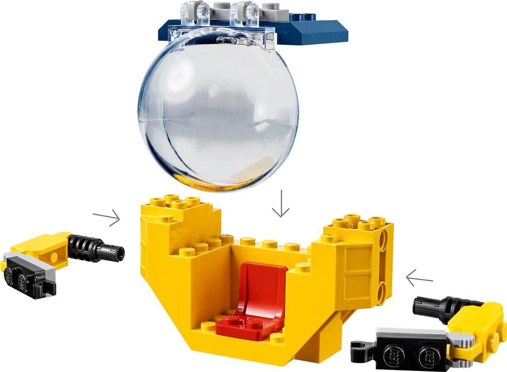 LEGO® City Ocean Mini-Submarine components