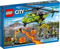 LEGO® City Volcano Supply Helicopter