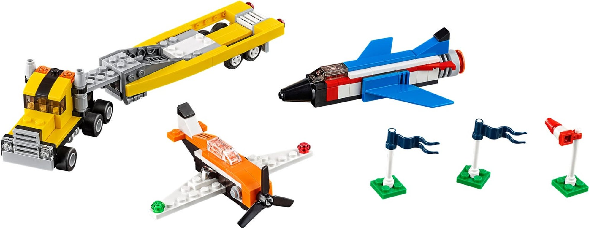 LEGO® Creator Airshow Aces components