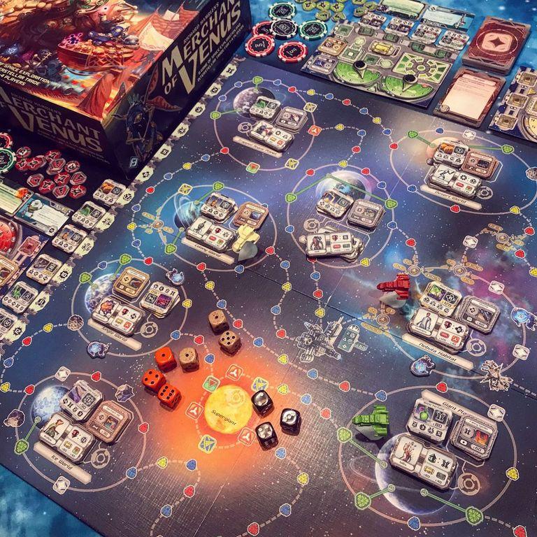Merchant of Venus (second edition) gameplay