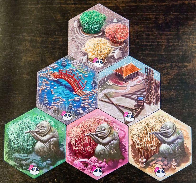 Takenoko: Chibis tiles