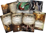 Arkham Horror: The Card Game – Murder at the Excelsior Hotel: Scenario Pack cards
