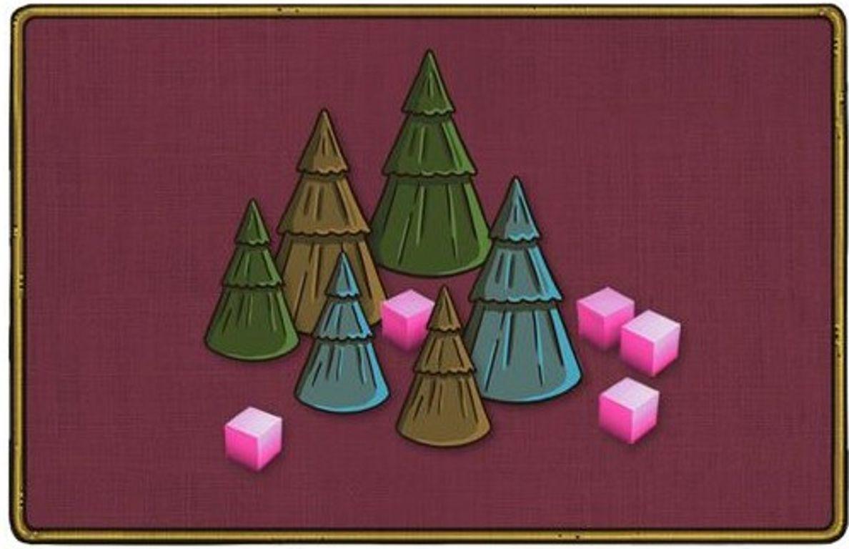 Feudum: Squirrels & Conifers card