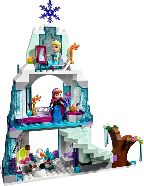 Elsa's Sparkling Ice Castle interior