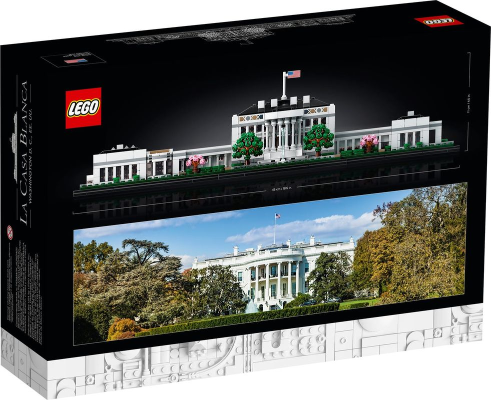 The White House back of the box