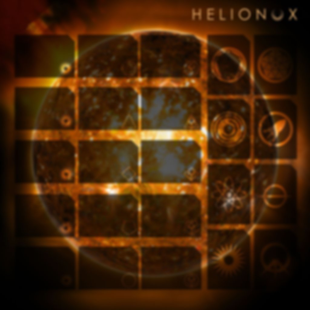 Helionox: Deluxe Edition game board