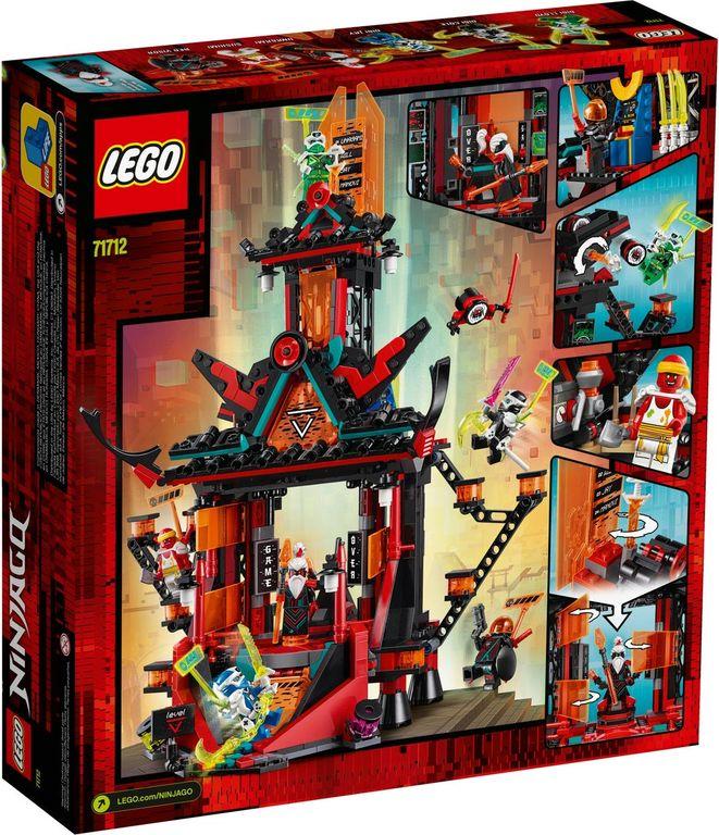 LEGO® Ninjago Empire Temple of Madness back of the box