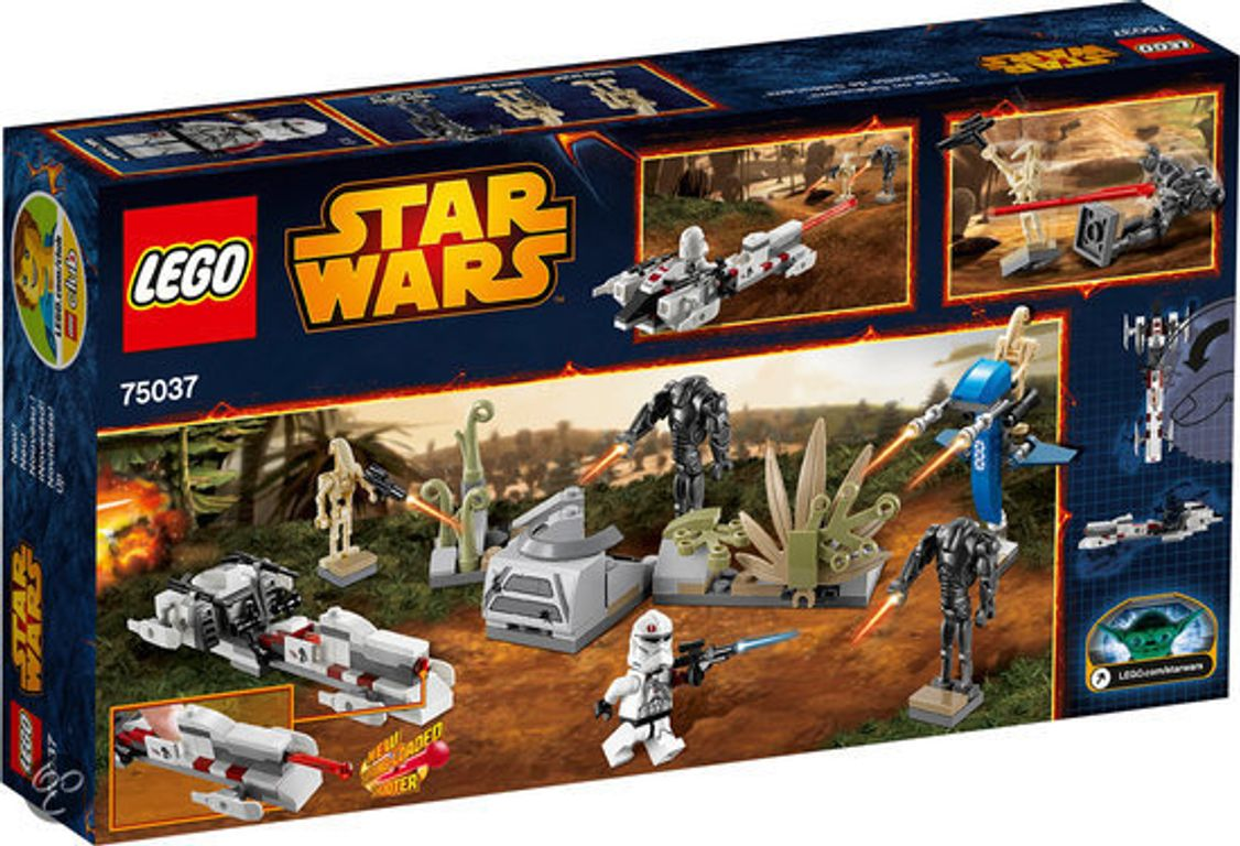 LEGO® Star Wars Battle on Saleucami back of the box
